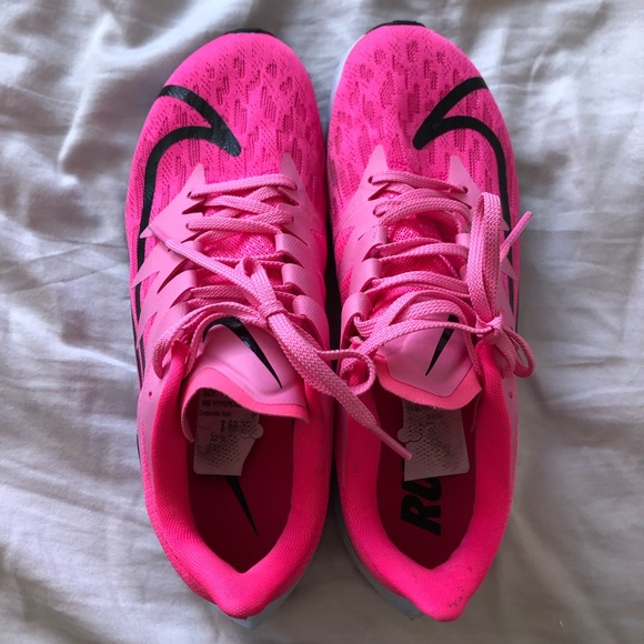 Hot Pink Nike Zoom Rival Fly Running